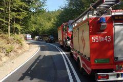 #101 19.08.2020r. droga Choczewo - Łętowo - wypadek drogowy