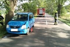 #106 16.09.2020r.  Karczemka Gardkowska - usunięcie skutków kolizji drogowej
