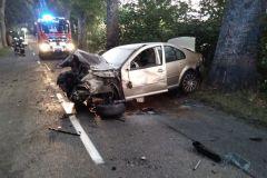 #108 21.09.2020r. Łętowo wypadek drogowy
