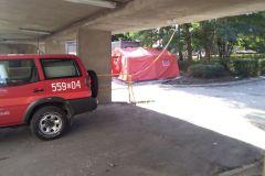 #112 29.09.2020r. Wejherowo ul. dr Jagalskiego 10  - zmiana miejsca ustawienia namiotu służącego jako polowa izba przyjęć