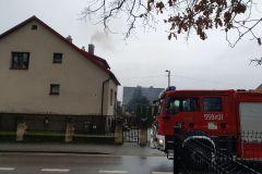 #144 29.12.2020r. Choczewo ul. Kusocińskiego 6 - pożar sadzy w przewodzie kominowym