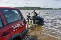 22.07.2019r. Jezioro Orle - ćwiczenia ratownictwo wodne