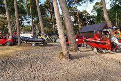 25.06.2021r. Morze Bałtyckie wejście na plażę nr 44 - ćwiczenia z zakresu ratownictwa wodnego