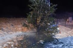 #3 15.01.2021r. Zwartówko - pożar choinki świątecznej