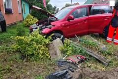#49 10.07.2021r. Ciekocinko - wypadek drogowy