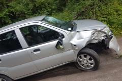 #57 16.07.2019r. Choczewo ul. Kusocińskiego wypadek drogowy