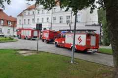 #63 01.08.2019r. Zwartowo 25 sparwdzenie zgłoszenia pożaru z monitoringu pożarowego