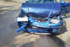 #68 12.08.2019r. Choczewo ul. Pierwszych Osadników wypadek drogowy