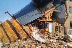 #78 09./09.2019r. Choczewo ul. Fr. Kowalewskiego 3 - budynek wielorodzinny wybuch mieszaniny gazowej