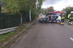 #83 30.09.2019r. Lublewko - wypadek drogowy