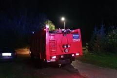 #89 17.10.2021r. Borkowo Lęborskie 17 - pożar sadzy w przewodzie kominowym